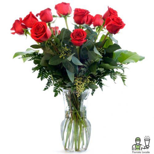 Dozzina di rose rosse