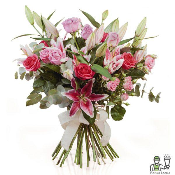 Lilium Rose e Lisianthus
